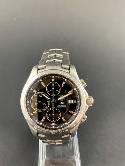 TAG HEUER Automatic Chronograph LINK Calibre...