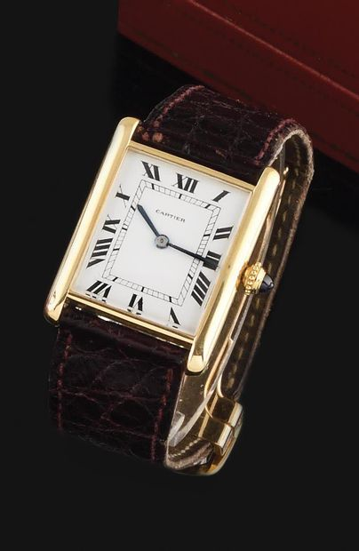 CARTIER Vers 1960. Réf: 031XXX. Montre bracelet...