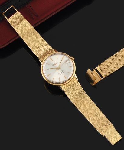 LONGINES Flagship Vers 1960. Montre bracelet...