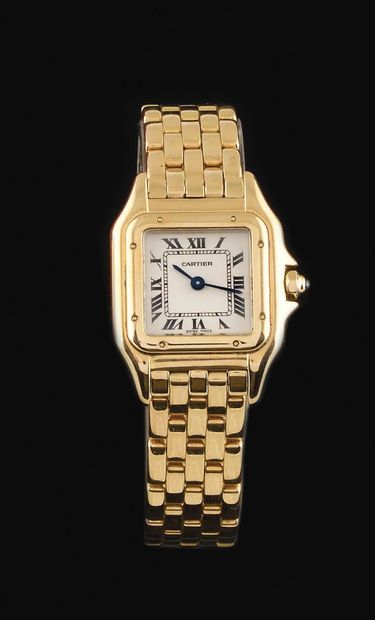 CARTIER Panther model About 1980. Ladies'...