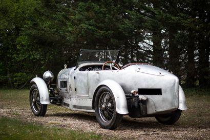 1926 BUGATTI TYPE 38 CHASSIS 38325 - Version sport de la Bugatti de course  Carte...