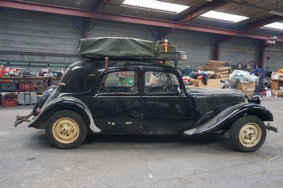 1951 CITROEN 11B 953 PXB 75 - Numéro de série : 207571  Numéro de carrosserie : EL...