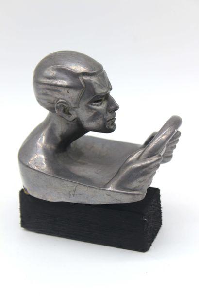 MAXIME LEVERRIER ( 1891- 1973) Tous les Gaz Mascotte signée Leverrier, métal composé,...