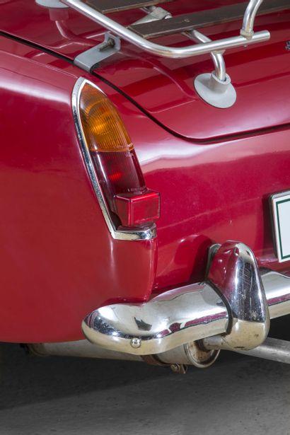 1967 AUSTIN HEALEY SPRITE Numéro de série HAN965068  Joli cabriolet abordable  Carte...