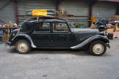 1955 CITROEN 11B 498AZ 61 - Serial number: 415239  Body number: EY 18764  42153 km...