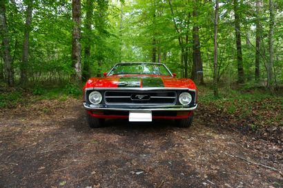 1972 FORD MUSTANG MACH 1 CONVERTIBLE