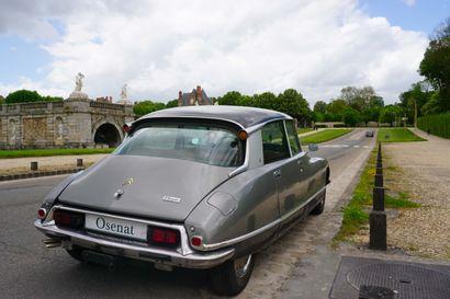 1972 CITROËN D SUPER Numéro de série 03FD1464  Petite sœur de la DS - Belle présentation...