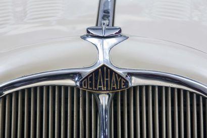 1935 DELAHAYE 135 COUPE DES ALPES COACH CHAPRON Châssis n° 46137  Dans les premiers...