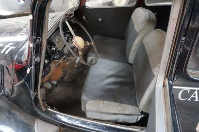 1939 CITROEN 11B 4697 QG 59 - Numéro de série : 145102  Numéro de carrosserie : EU04404...