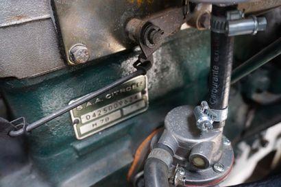 1967 CITROËN TYPE HY MOTOBECANE Numéro de série 5009603  Intégralement restauré -...