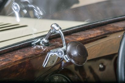 1937 DELAHAYE 135 M CABRIOLET DUBOS Numéro de série 48718  Exemplaire unique à carrosserie...