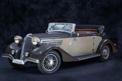 1934 RENAULT VIVASPORT YZ4 CABRIOLET Numéro de série : 677744 - Carrosserie Chapron...