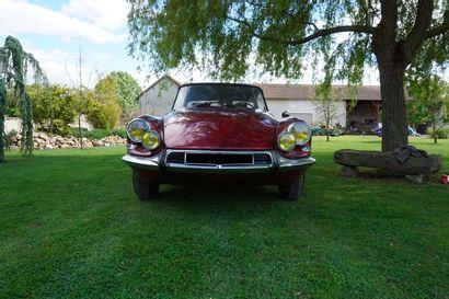 1963 CITROËN DS 19 GT BOSSAERT