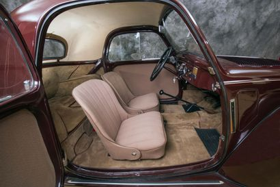 1938 SIMCA 5 Numéro de série : 6216 - Bel état de restauration  Populaire attachante...