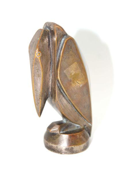 GEORGES-HENRI LAURENT (XXE) Pélican Mascotte stylisée d'un pélican, signée G.H Laurent....