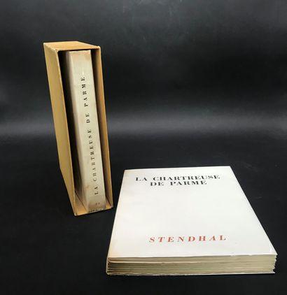 La Chartreuse de Parme  Stendhal  Deux volumes...