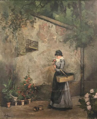 ECOLE FRANCAISE DE LA FIN DU XIXe siècle...