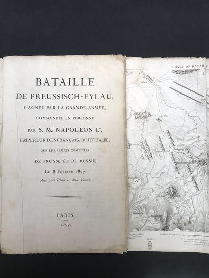 BATAILLE DE PREUSSISCH-EYLAU  Gagnée par...