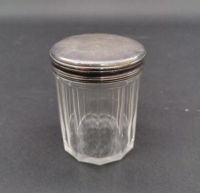 AUCOC AINE à PARIS  Petite boîte en verre...
