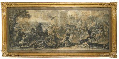 GIRARD AUDRAN (1640-1703) D'APRES CHARLES...