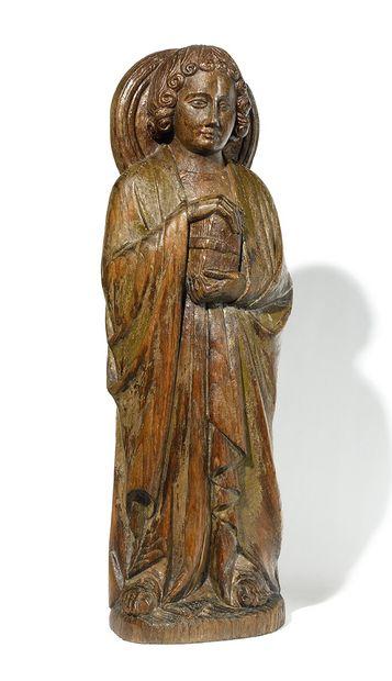 ÉCOLE DU XVIIEME SIECLE Saint Jean présentant...
