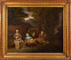 ÉCOLE HOLLANDAISE VERS 1640, ENTOURAGE D'ALBERT...