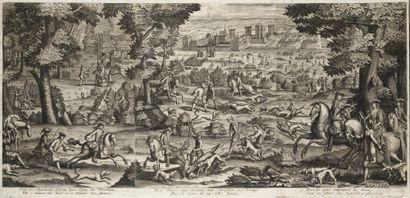 Pierre Gallays (1677-1749) Les chasses au château de Vincennes PIERRE GALLAYS (1677-1749)...