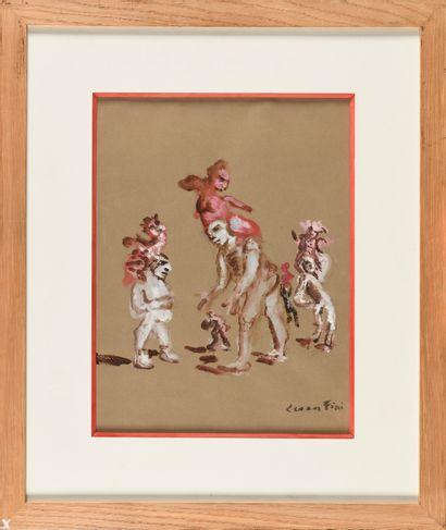 LEONOR FINI (1907-1996) Illustration Baudelaire,...