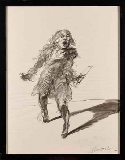 CLAUDE WEISBUCH (1927-2014) L'homme à la...