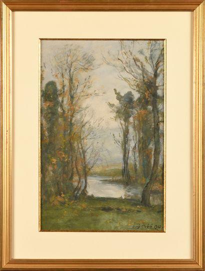 Louis Alexandre CABIÉ (1854-1939) Paysage...