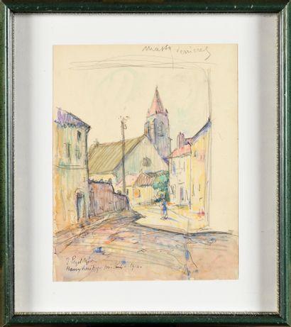 Jean-Bertrand PÉGOT-OGIER (1877-1915) Rue...