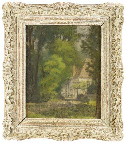 Pierre Ernest PRINS (1838-1913) La maison...