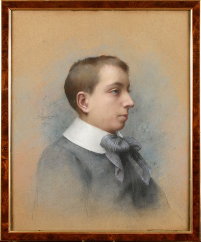 Delphin ENJOLRAS (1857-1945) Portrait de...
