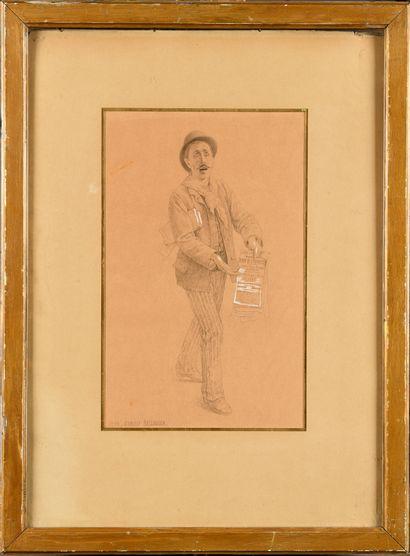 Camille BELLANGER (1853-1923) Le vendeur...
