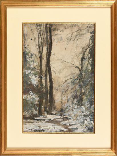 Louis Alexandre CABIÉ (1854-1939) Chemin...