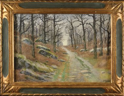 Joseph-Clément-Maxime JEANNOT (1855-?) Chemin...