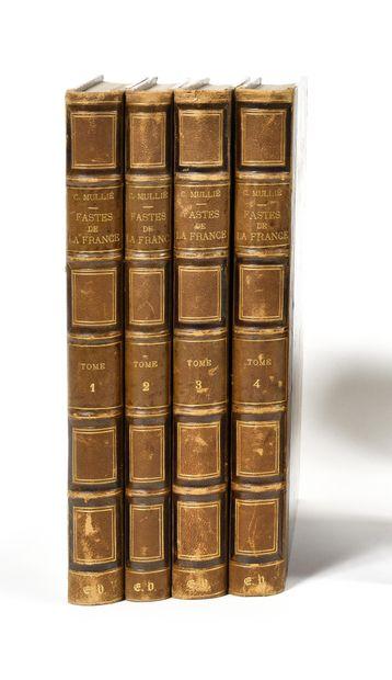 C.MULLIE  Les Fastes de la France  7e edition,...