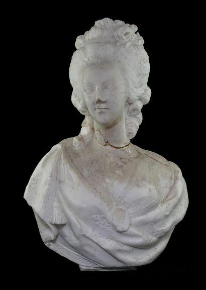 LECOMTE D'APRES.  La Reine Marie Antoinette...