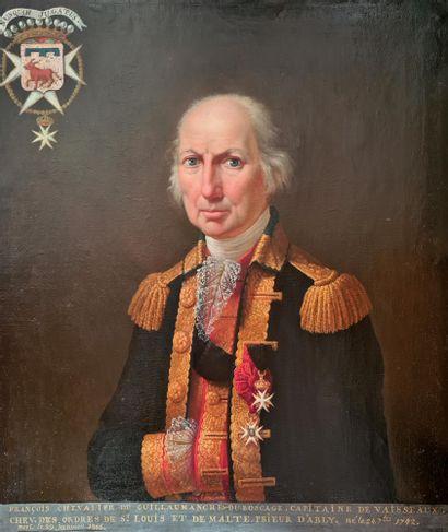 ECOLE FRANÇAISE DU XIXE SIECLE Portrait...