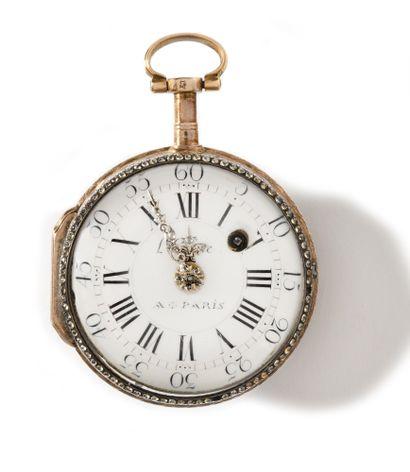 L'EPINE A PARIS.  Rare montre de poche, de...