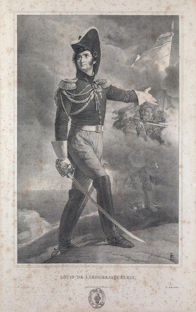 GUERIN D'APRES.  Louis de La Rochejaquelein....