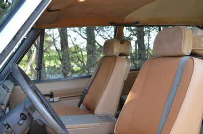 1982 LAND ROVER RANGE ROVER RR200 Serial number SALLHABV2AA126483  Good condition...