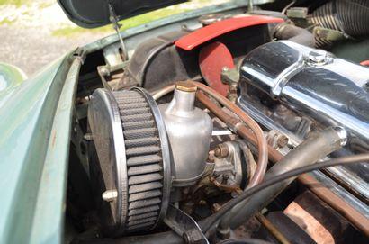 1955 AUSTIN HEALEY 100/4 BN1L SERIAL NUMBER 156600 - ENGINE NUMBER 1B213606M  A TRUE...