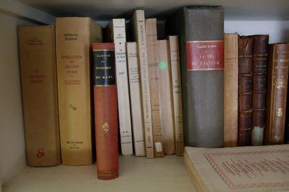 Lots d'ouvrages anciens du début du Xxè siècle...