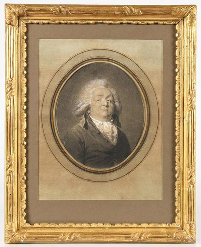 JEAN URBAIN GUERIN (1761-1836) Portrait d'Honoré...