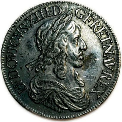LOUIS XIII 16 MAI 1610 – 14 MAI 1643 LVDOVICVS•XIII•D•G•FR•ET•NAV•REX....
