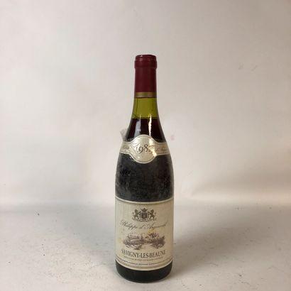 1 bouteille SAVIGNY LES BEAUNE 1984 Philippe...