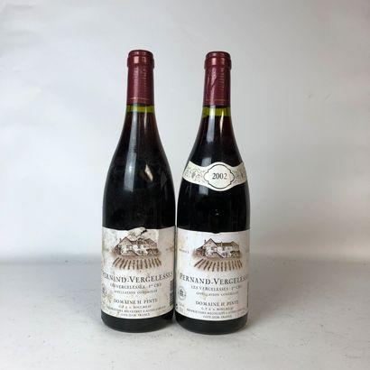 2 bouteilles PERNAND-VERGELESSES 2002 1er...
