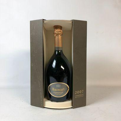 1 bouteille CHAMPAGNE RUINART 2007 Brut (coffrets...