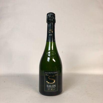 1 bouteille CHAMPAGNE SALON 2002 Le Mesn...